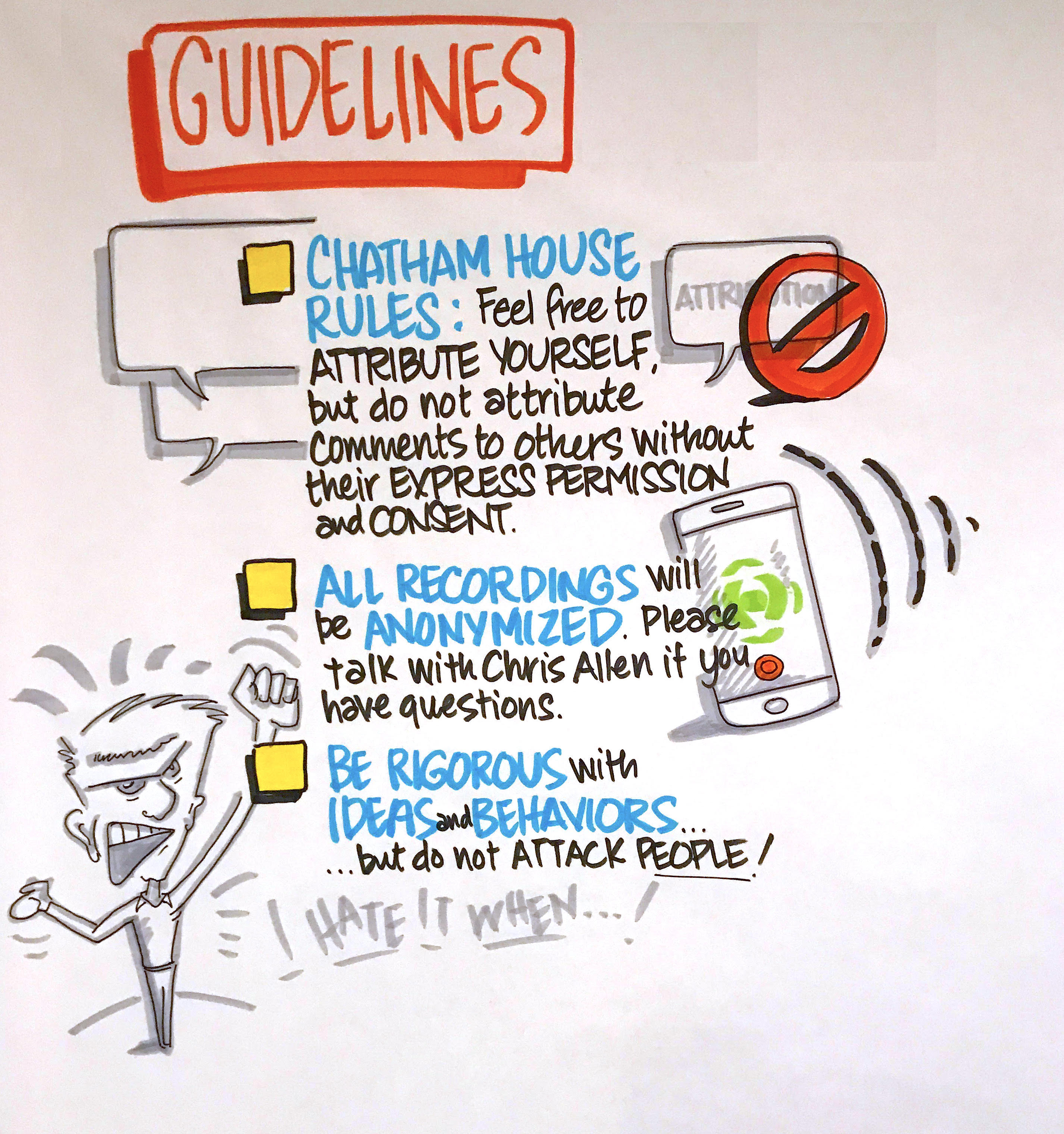 #TokenEthics Guidelines List